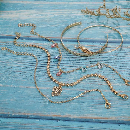 Mermaid Jewels Bracelet Stack