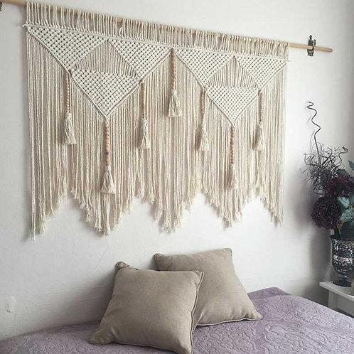 Macrame Fringe Tapestry
