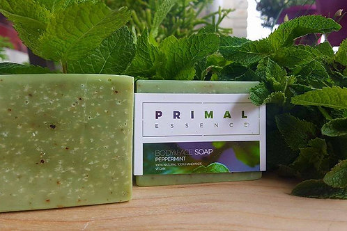 Peppermint Leaf Body & Face Soap