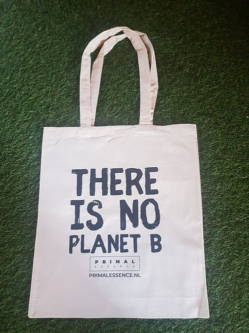 Cotton Tote Bag - There is No Planet B