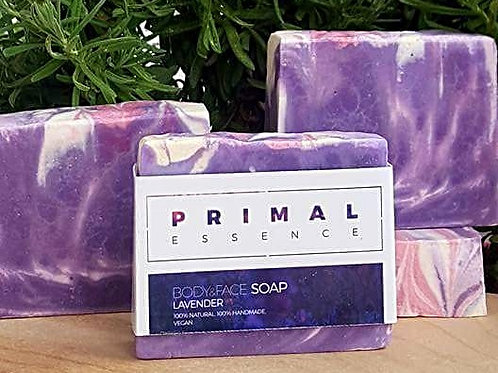 Lavender Body & Face Soap