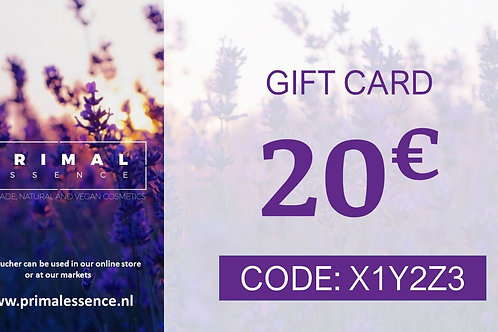 20€ Gift Certificate