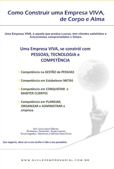 Prospecto Como Construir uma Empresa VIV