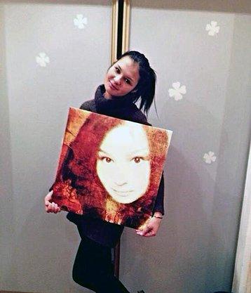 Digital портрет Портрет в стиле digital на сатиновом холсте. Размер 50х50 см.jpg