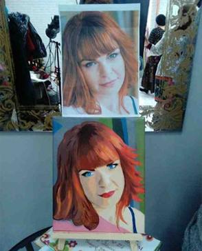 Портрет в стиле Pop Art