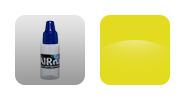 Краска для аэрографии на ногтях - Желтый банан