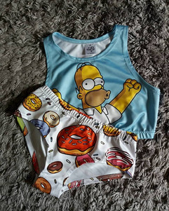 Simpson Pole Dance, Pole Dance wear simson, simson top pole dance, donats pole dance shorts, pole dance shorts, pole dance top, pole dance shop, pole dance szorty, donaty, simson, pole4all.jpg