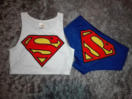 Set Superman Pole Dance wear, pole dance clothes, top pole dance, szorty do pole dance, shorts pole dance, komplet pole dance, zestaw do pole dance, pole dance sklep.jpg