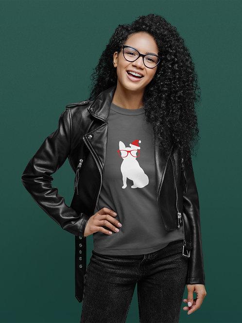 Women's Santa Frenchie Sweatshirt