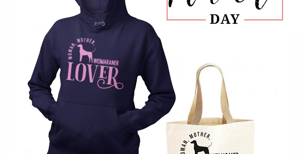 Weimaraner Lover - Shopper & Hoodie Bundle