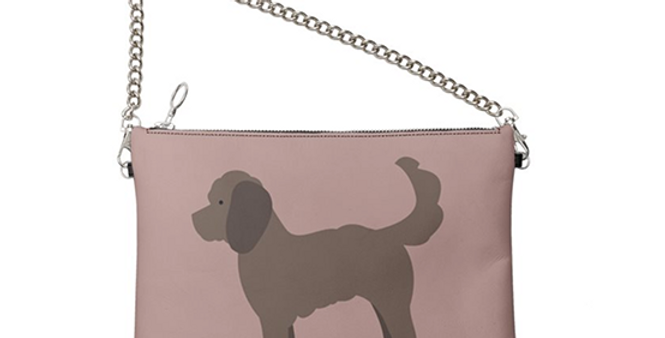 Colour Pop Leather Bag - Clever Cockapoos