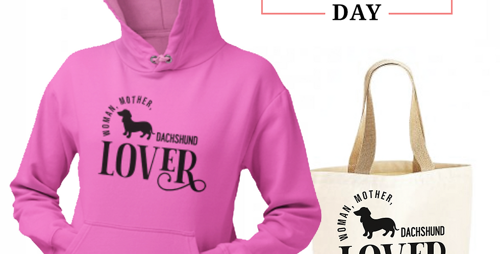 Dachshund Lover - Shopper & Hoodie Bundle