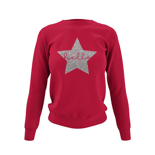 Chilli Red Sweatshirt - Customise Me!