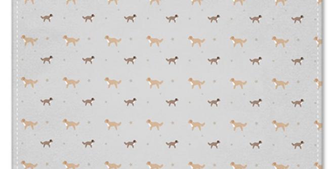 Grey Napkin Set (4) - Cute Cavapoos
