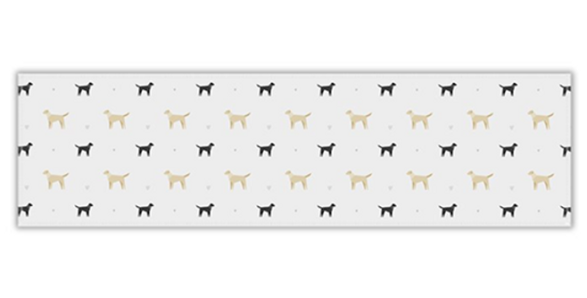Grey Twill Table Runner - Lucky Labs