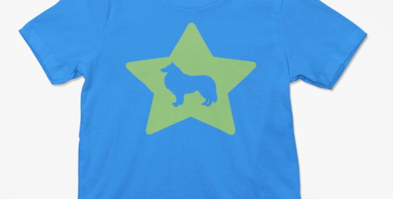 KIDS Bright Star Blue Tee - ANY BREED