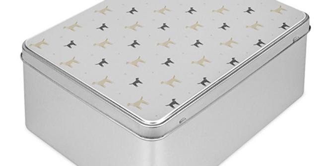 Grey Storage Tin - Lucky Labs