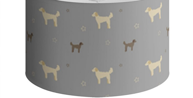 Large Round Ceiling Shade - Dandy Doodles
