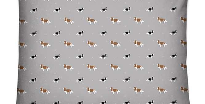 Dog Bed Cushion - Keen King Charles