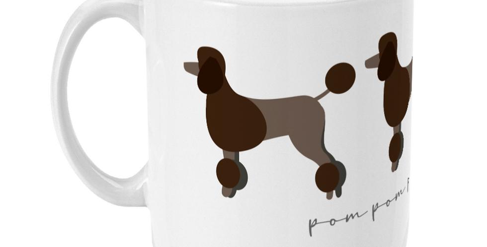 Trio Ceramic Mug - Pom Pom Poodles