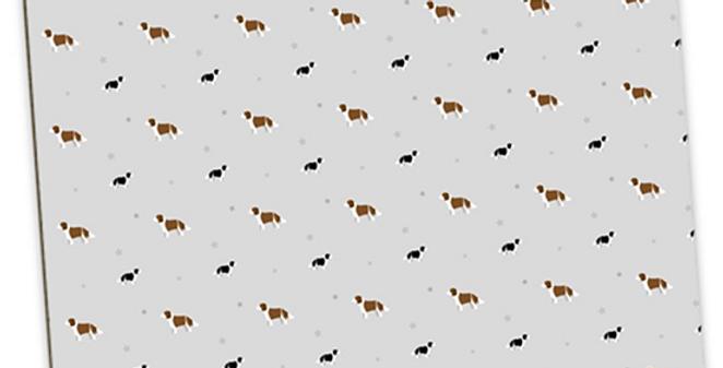 Grey Large Placemat Set (4) - Scrumptious Springers