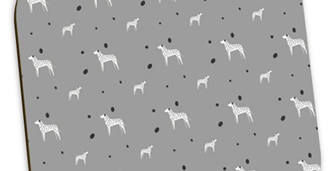 Grey Coaster Set (4) - Dotty Dallies