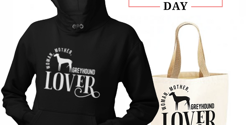 Greyhound Lover - Shopper & Hoodie Bundle
