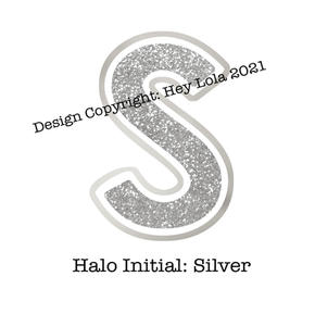 Halo Initial - Silver