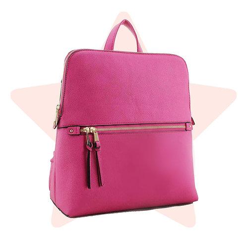 Bright Pink Rucksack
