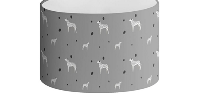 Oval Lampshade - Dotty Dallies