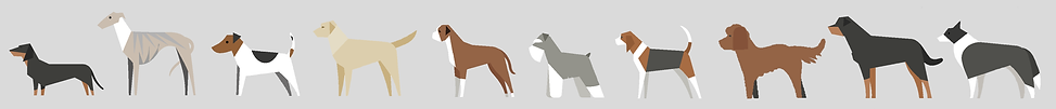 Woof & Me Dog Illustration Print