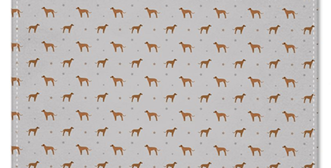 Grey Multi Pocket Squares (2) - Regal Ridgebacks