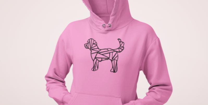 Fretwork Dog Hoodie - ANY BREED (Unisex)