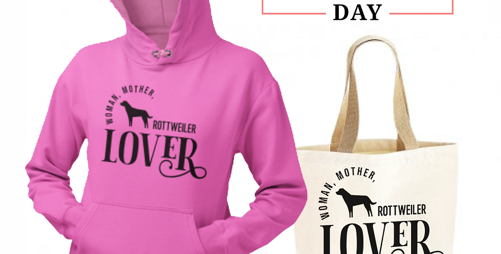 Rottweiler Lover - Shopper & Hoodie Bundle