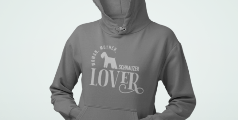 Woman, Mother Schnauzer Lover - Hoodie
