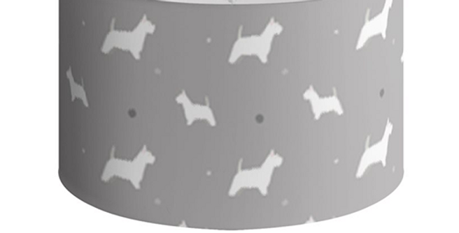 Large Round Ceiling Shade - Wonderful Westies