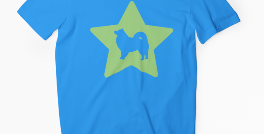 Bright Star Blue Tee - ANY BREED