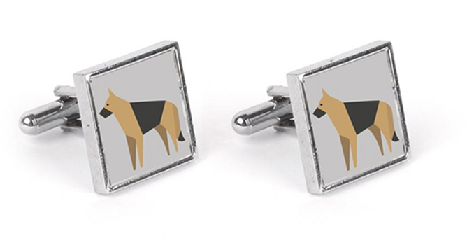Grey Cufflinks - Smart Shepherds