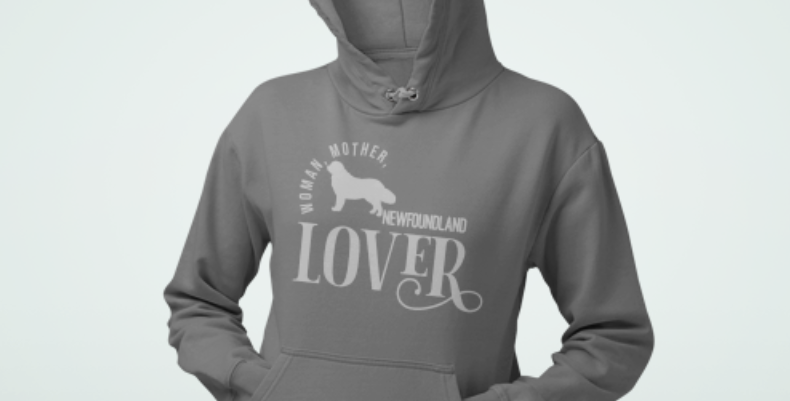 Woman, Mother Newfoundland Lover - Hoodie