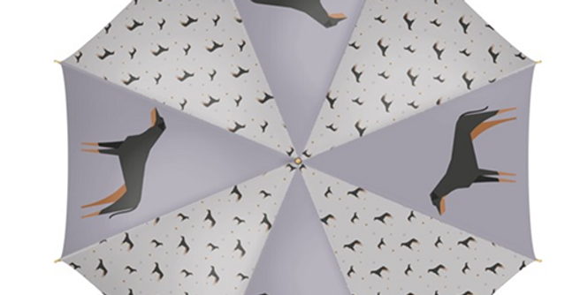 Large Umbrella - Dazzling Dobermans