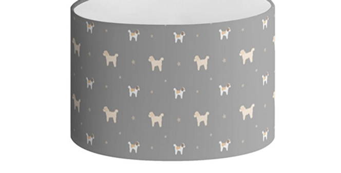Oval Lampshade - Cuddly Cavachons
