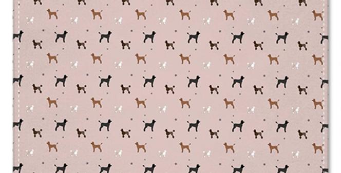 Pocket Squares (2) - Poodles