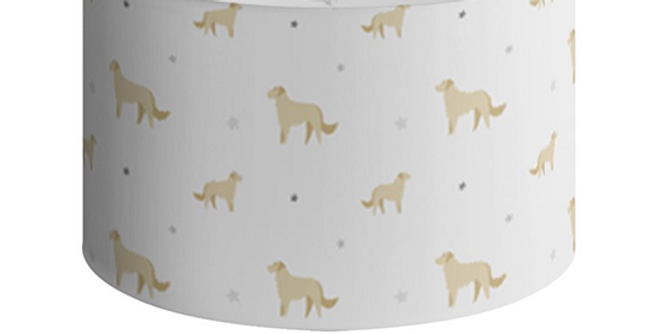 Grey Large Round Ceiling Shade - Goldens Galore