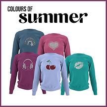 Summer Colour Clothes