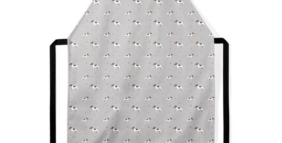 Grey Ultra Suede Apron - Jazzy Jacks