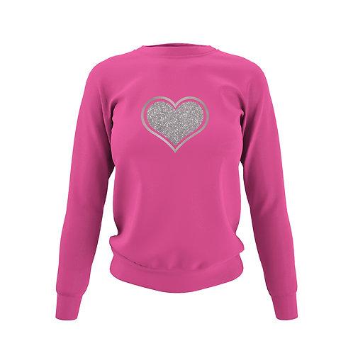 Hot Pink Sweatshirt - Customise Me!