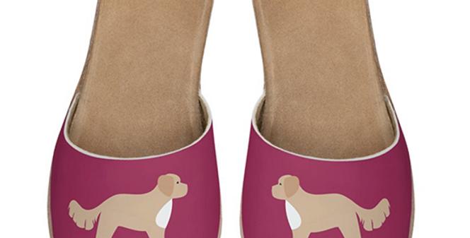 Leather Sliders - Cute Cavapoos