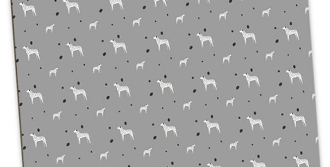 Grey Large Placemat Set (4) - Dotty Dallies