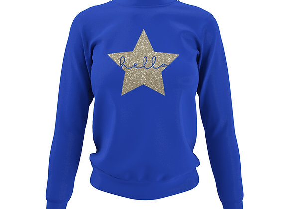 Bright Blue Sweatshirt - Customise Me!