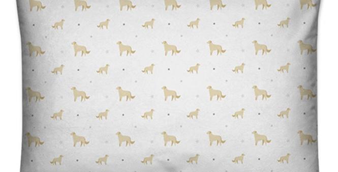 Grey Large Rectangular Cushion - Goldens Galore